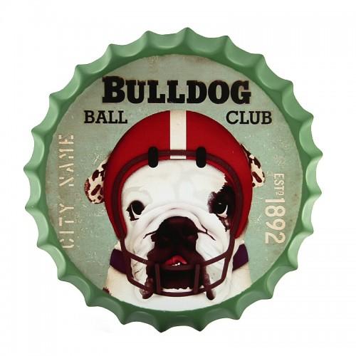 Διακοσμητικό Τοίχου Καπάκι Bulldog Ball Club (Design)