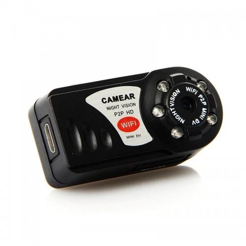 Κάμερα Mini DV WiFi Q7 P2P (Μαύρο)