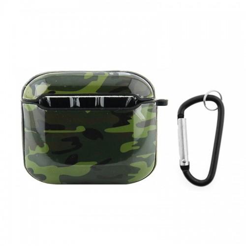 Θήκη με Κλίπ Camouflage για Apple Airpods Pro (Design)