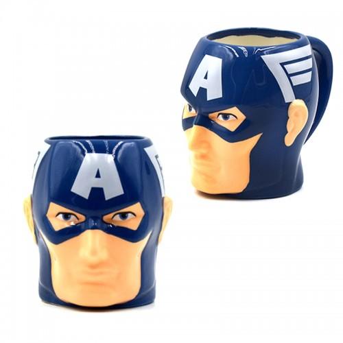 Κούπα σε Σχέδιο Captain America (Design)