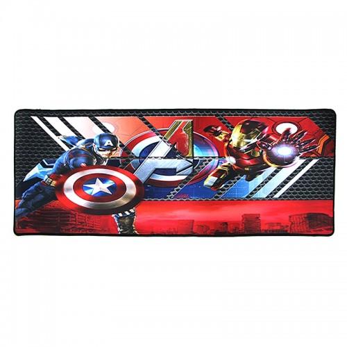 Gaming Mousepad Captain America VS Iron Man 1 XXL (Design)