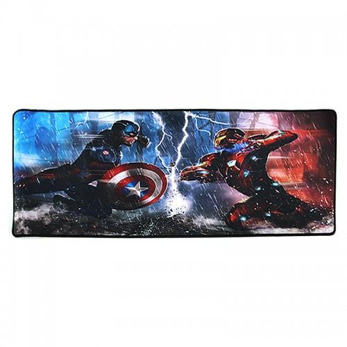 Gaming Mousepad Captain America VS Iron Man 2 XXL (Design)