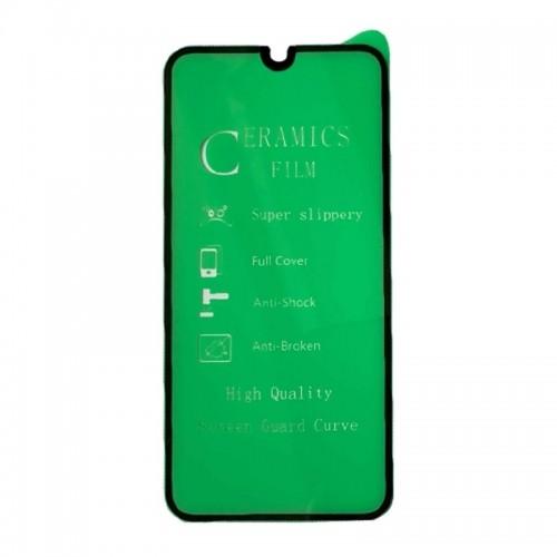 Ceramic Μεμβράνη Προστασίας Full Cover για Samsung Galaxy A30S (Μαύρο)