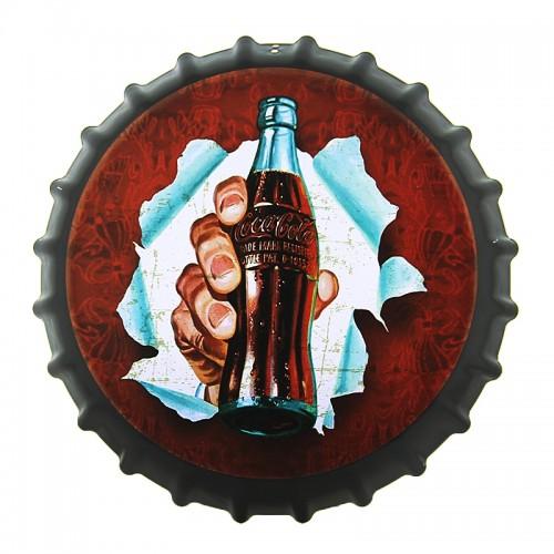 Διακοσμητικό Τοίχου Καπάκι Coca-Cola Bottle (Design)