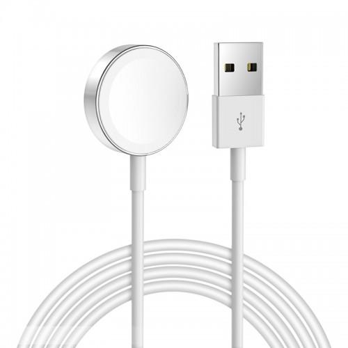 Ασύρματος Φορτιστής Hoco CW16 για iWatch 4/3/2/1 (Άσπρο)