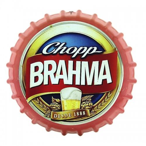 Διακοσμητικό Τοίχου Καπάκι Brahma (Κόκκινο)