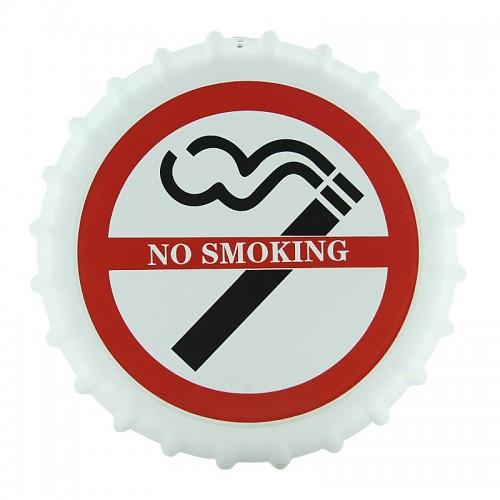 Διακοσμητικό Τοίχου Καπάκι No Smoking (Άσπρο)