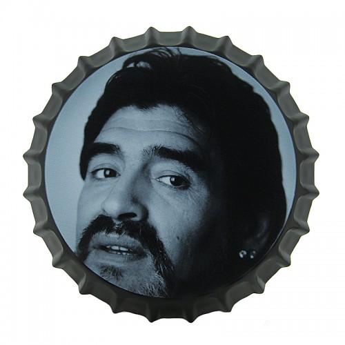 Διακοσμητικό Τοίχου Καπάκι Diego Maradona Close-up (Design)