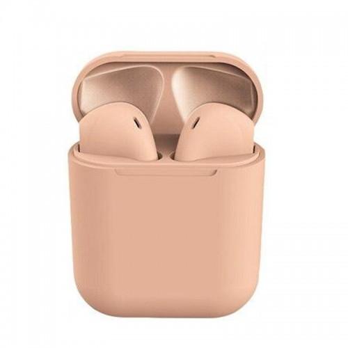 Ακουστικά Bluetooth 5.0 Wireless Headset DS200 (Ροζ)
