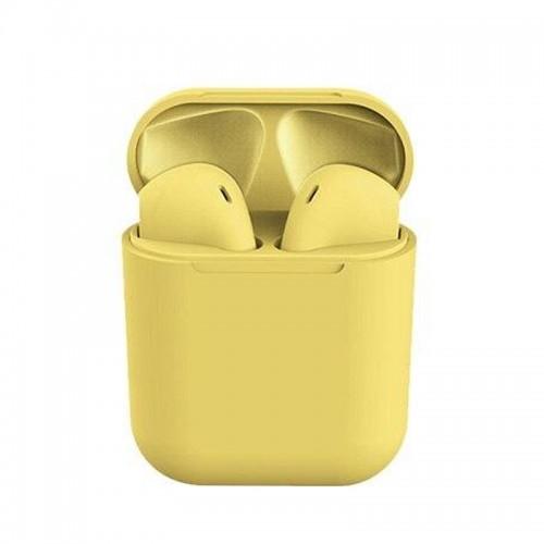Ακουστικά Bluetooth 5.0 Wireless Headset DS200 (Κίτρινο)