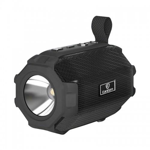 Ασύρματο Ηχείο Bluetooth Earldom A16 με Φακό (Μαύρο)