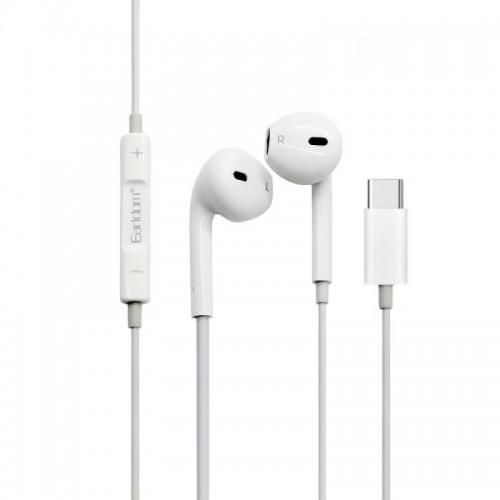 Ακουστικά Type-C Earldom ET-E19 (Άσπρο)
