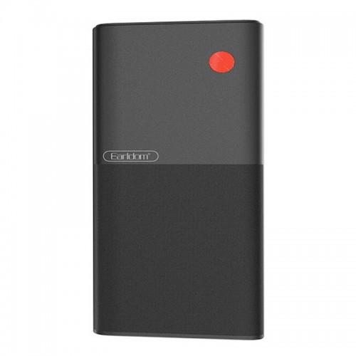 Powerbank Earldom PD05 με Digital LED Οθόνη 20000mAh (Μαύρο)