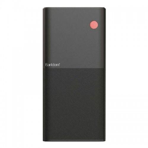 Powerbank Earldom PD06 με Digital LED Οθόνη 30000mAh (Μαύρο)
