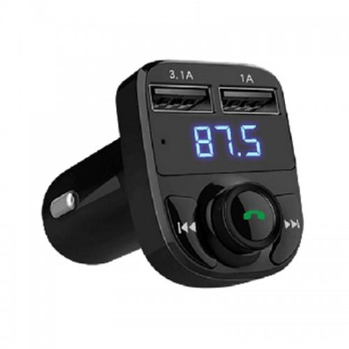 Φορτιστής Αυτοκινήτου Earldom ET-M29 Wireless FM Car Kit Transmitter (Μαύρο)