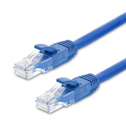 Καλώδιο Ethernet OEM 20m Cat.5e (Μπλε)