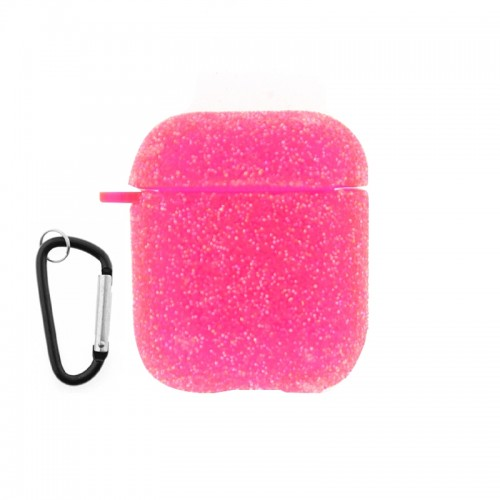 Θήκη Silicone Glitter για Apple AirPods (Φούξ)