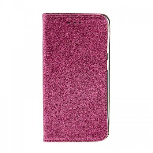 Θήκη OEM Shining Flip Cover για Samsung Galaxy A50 (Φουξ)