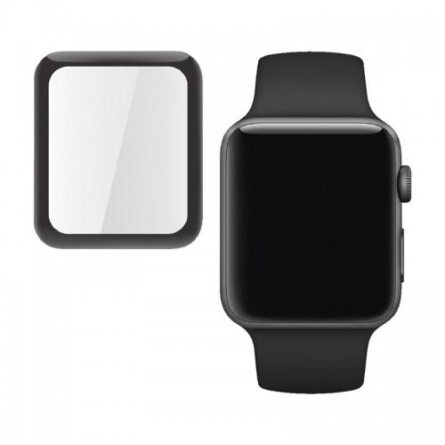 Μεμβράνη Προστασίας Full Cover για Apple Watch 42mm (Μαύρο)