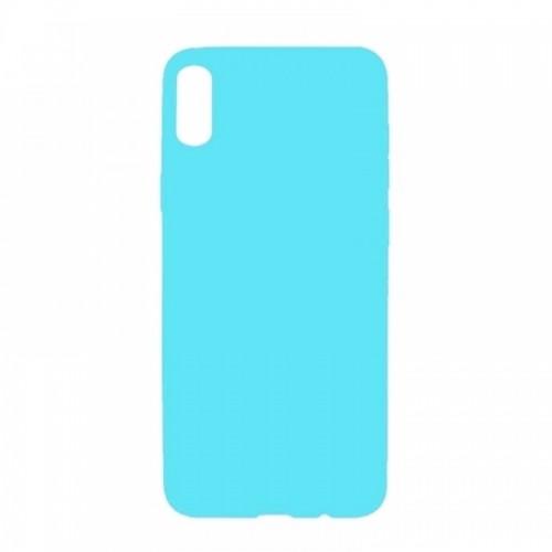 Θήκη MyMobi Σιλικόνης Mat Back Cover για Samsung Galaxy A02 (Γαλάζιο)