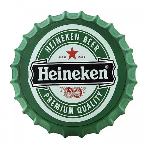 Διακοσμητικό Τοίχου Καπάκι Heineken Premium Quality (Design)