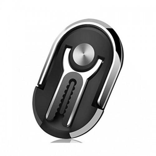 Βάση Hicucoo Ring Car Holder Αεραγωγού για Κινητά (Μαύρο)