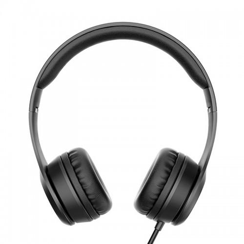 Ακουστικά Headset Hoco W21 Graceful Charm (Μαύρο)