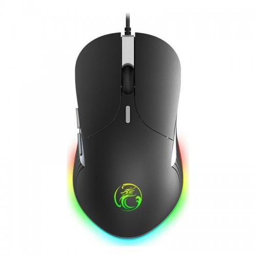 Gaming Ενσύρματο Ποντίκι iMice X6 RGB (Μαύρο)