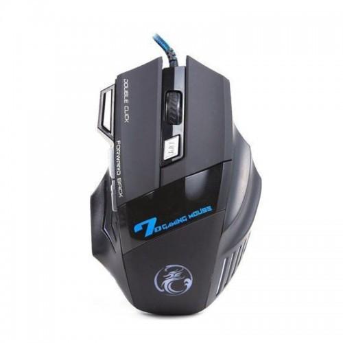 Ενσύρματο 7D Gaming Ποντίκι iMice X7 με LED Φωτισμό (Μαύρο)