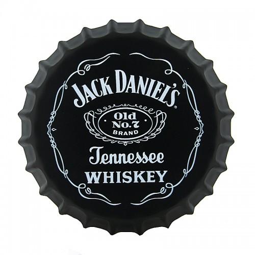 Διακοσμητικό Τοίχου Καπάκι Jack Daniel's Tennessee Whiskey Logo (Design)