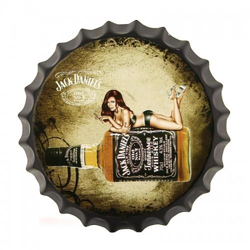 Διακοσμητικό Τοίχου Καπάκι Jack Daniel's Tennessee Whiskey (Design)