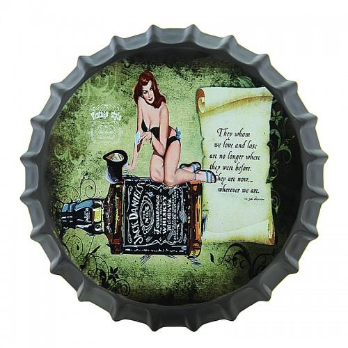 Διακοσμητικό Τοίχου Καπάκι Jack Daniel's Vintage Style (Design)