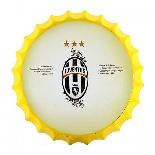 Διακοσμητικό Τοίχου Καπάκι Juventus (Κίτρινο)