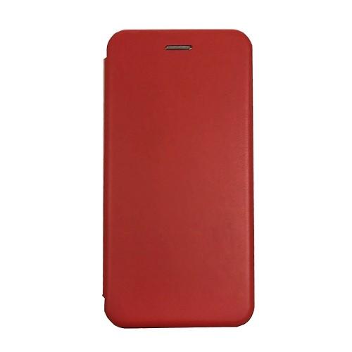 Θήκη MyMobi Flip Cover Elegance για Huawei P40 Pro (Κόκκινο)