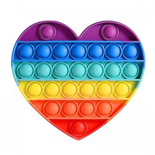 Pop It Fidget Bubble Toy Καρδιά (Design)