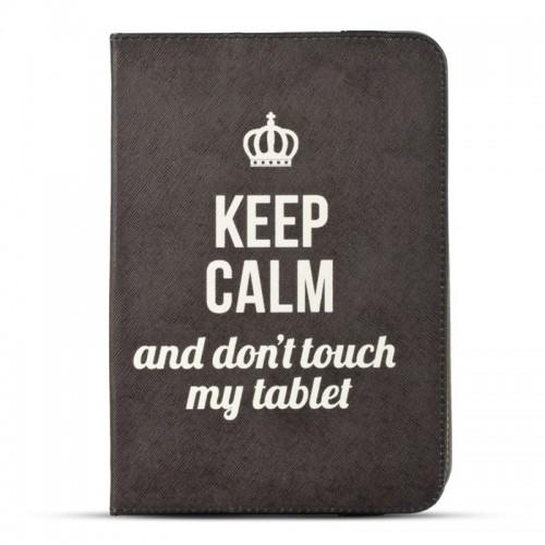 Θήκη Table Keep Calm Flip Cover για Universal 7-8'' (Design)