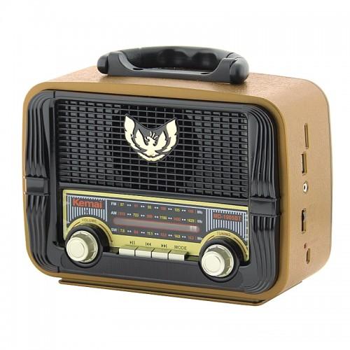 Ραδιόφωνο Kemai MD-1905BT (Καφέ)