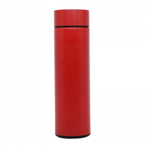 Θερμός από Ανοξείδωτο Ατσάλι με LED 'Ενδειξη Θερμοκρασίας (Κόκκινο)
