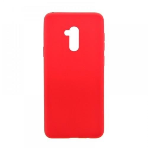 Θήκη MyMobi Σιλικόνης Mat Back Cover για Samsung Galaxy A02 (Κόκκινο)