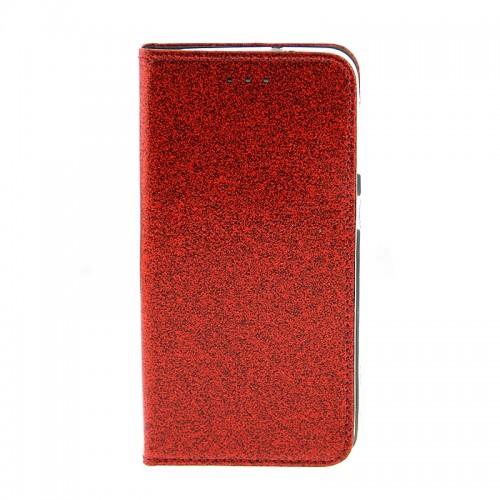 Θήκη OEM Shining Flip Cover για Samsung Galaxy A50 (Κόκκινο)