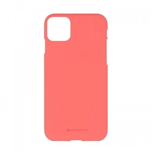 Θήκη Goospery Soft Feeling Back Cover για iPhone 11 Pro Max (Κοραλί)