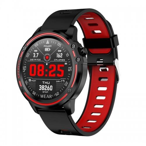 Smartwatch L8 (Μαύρο - Κόκκινο)