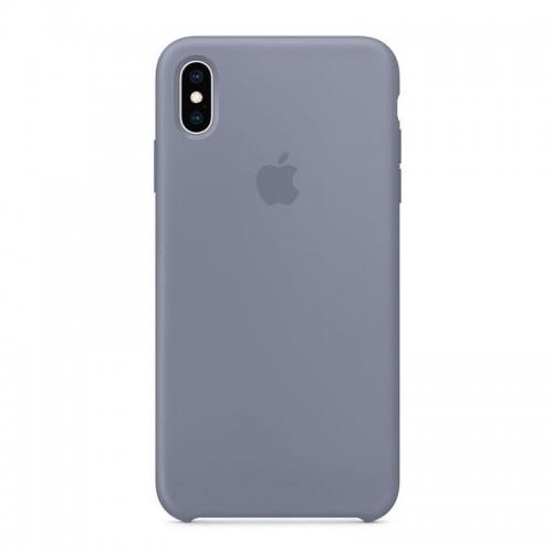 Θήκη Original Apple Silicone Case για iPhone XS Max (MTFH2ZM/A) (Lavender Gray)