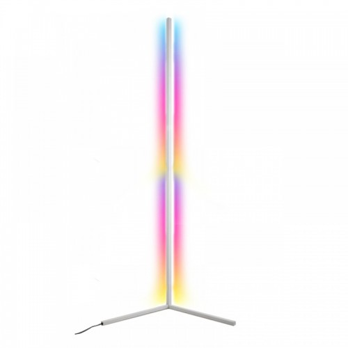 Φωτιστικό Δαπέδου LED 12W με Ασύρματο Χειριστήριο RGB 140cm (Άσπρο)