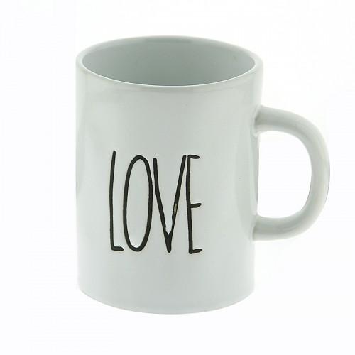 Κούπα Love 450ml (Άσπρο)