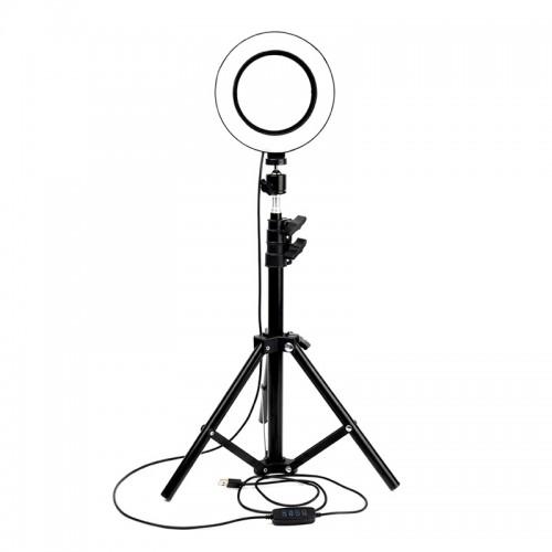 Led Ring Light 35cm 14'' και Τρίποδο (Μαύρο)