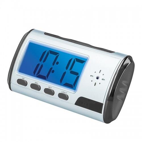 Mufic Ρολόι Ξυπνητήρι με κάμερα παρακολούθησης (Μαύρο)