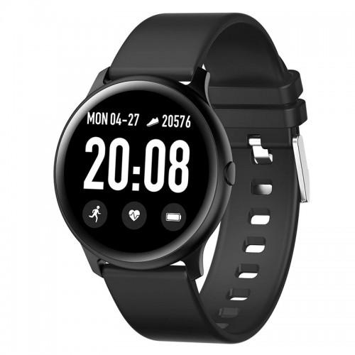 Smartwatch KW19 (Μαύρο)