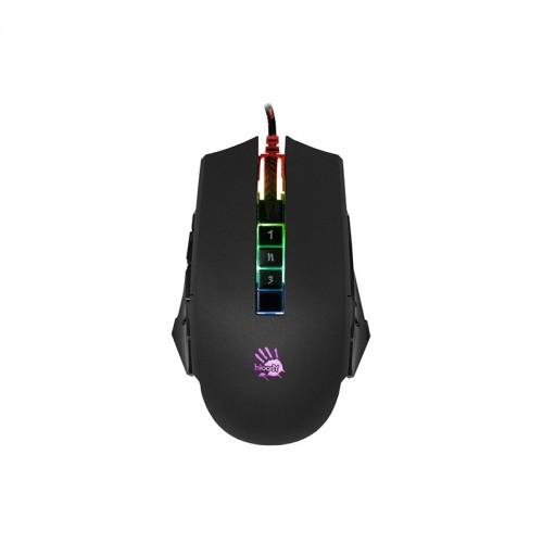 Ποντίκι παιχνιδιών Bloody P85 Light strike 5K RGB (Μαύρο)