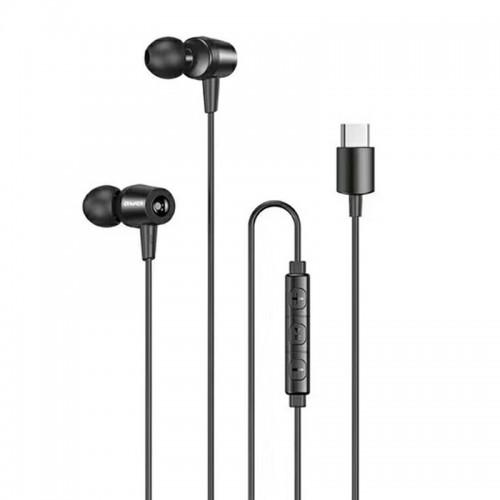 Handsfree Ακουστικά Awei TC-1 για Type-C (Μαύρο)
